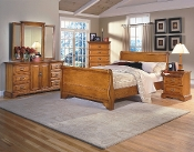 Honey Creek Sleigh Bed