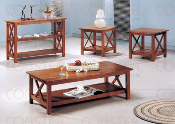 LIGHT OAK 3 PC SET OCCASIONAL