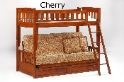 Spices Cinnamon Twin over Futon Bunk Bed