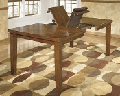 Ralene Dining Table with Butterfly Leaf D594-35