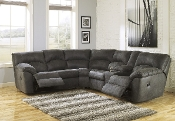 Ashley Tambo Pewter Reclining Sectional