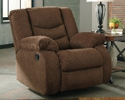 Tulen Chocolate Rocker Recliner 9860525