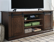 Budmore Rustic Brown Extra Large TV Stand W562-68