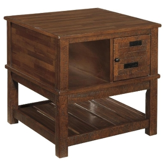 Ashley Furniture Bilvorn Square End Table T742-2 (Last One!)