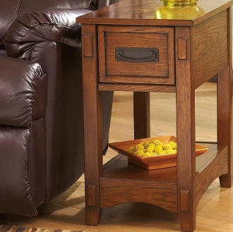 Breegin Chairside End Table T007-319