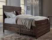 Farmhouse King Storage Bed