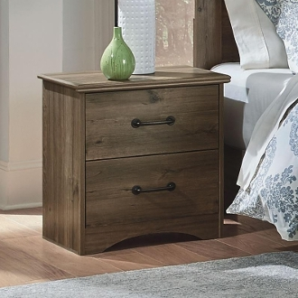 2 Drwr Night Stand Weathered Gray Ash