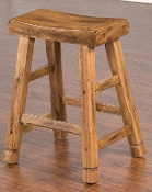 "Sedona 24"" Bar Stool Solid Oak (Closeout)"