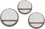 Laurel Round(Set Of 3) Wall Shelves 65320-3 (CLOSEOUT)