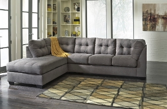 Maier Charcoal Chaise Sectional 45200-16-67