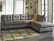 Maier Charcoal Chaise Sectional 45200-17-66