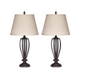 Mildred Bronze Metal Table Lamp (Set of 2) L201944