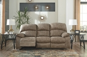 Dunwell Driftwood Power Rec. Sofa w/Adjustable Headrest 5160215