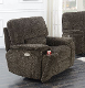 Power Recliner  W/Adj HD Rest /Smoke 10180-1PBPR