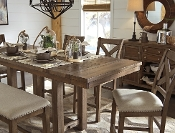Moriville 5 Piece Gathering Table and chairs Set