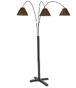 Ashley SHARDE Metal Arc Floor lamp