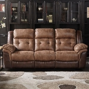 CHEERS 2 TONE DUAL TWO TONE RECLINING SOFA