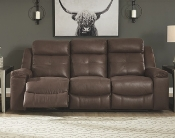 Jesolo Reclining Sofa in Coffee