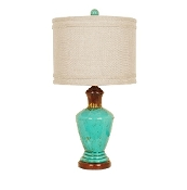 Napa Ceramic Blue TABLE LAMP
