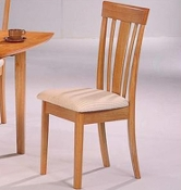 Padded Dining Chairs Maple (LAST SET OF 4!)