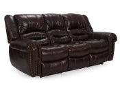 Leather Reclining Sofa (LAST ONE!!) Top Grain leather!!
