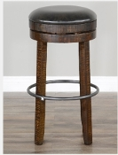 "30"" Barstool  W/ Swivel, Cushion Seat"