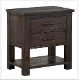 Newton Farmhouse Nightstand with USB