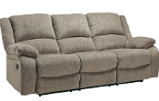 Draycoll Pewter Reclining Sofa