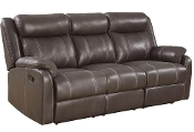 Domino-	RST Rec Sofa W/Drop Table Valor Chocolate