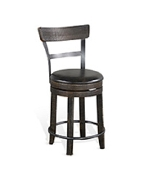 "24""H Swivel Barstool Cushion Seat"